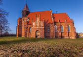 Medieval church in the countryside — Foto Stock