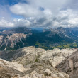 Stock Photo: Beautiful, breathtaking view - Dolomites, Italy