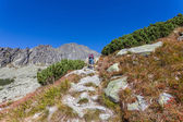 Trekking in Tatra Mountains - Europe — Stock Photo