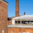 The ruins of the brick factory - Poland — Stock Photo #39610479