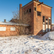 The ruins of the brick factory - Poland — Stock Photo