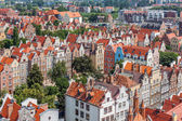 Old town buildings in the centre of Gdansk Poland — Stock Photo