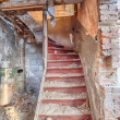 Staircase in an abandoned house — Stock Photo #40362517