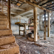 Old, abandoned and forgotten brick factory — Stock Photo #41261395