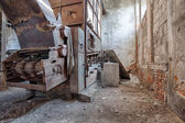 Old, abandoned and forgotten brick factory — ストック写真