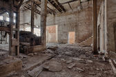 Old, abandoned and forgotten brick factory — Foto Stock