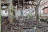 Interior of an old barn — Foto Stock