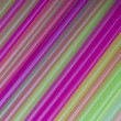 Stock Photo: Colorful drinking straws background.