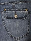 Kieszeni jeansów jako tło — Zdjęcie stockowe
