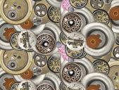 Metal buttons — Stockfoto
