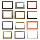Der satz von frames — Stockfoto