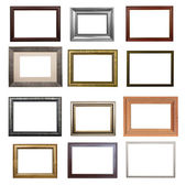 The set of frames — Stok fotoğraf