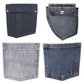 Bolsos da calça jeans — Foto Stock
