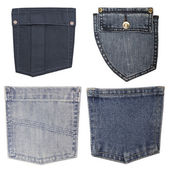 Jeans pockets — Foto Stock