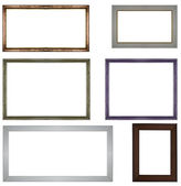 Classic wooden frames — Stock Photo