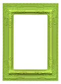 Green picture frame — Stock Photo