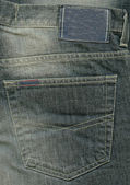 Jeans background or texture — Stock Photo