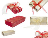 Gift packages — 图库照片