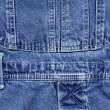 Stock Photo: Blue denim jeans texture