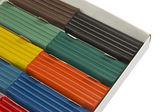 Colorful children's plasticine — Stock Photo