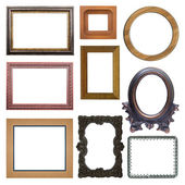 The set of frames — Stockfoto