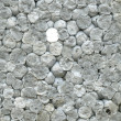 Macro styrofoam surface — Stockfoto