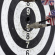 Arrows missed target — Stock Photo