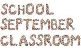 School, september, classroom — Stock Photo