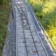 Funicular railway — Stock Photo