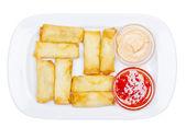 Frits roulés — Photo