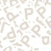 P 字母背景 — 图库照片