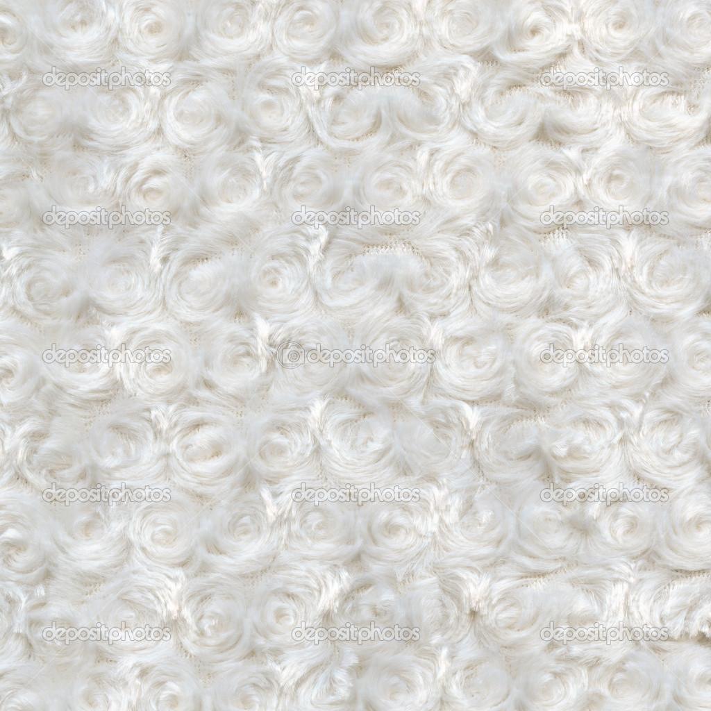 White plush or wool texture — Stock Photo © natalt #34722693