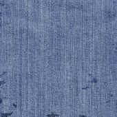 Tekstura niebieskie dżinsy włókienniczych — Zdjęcie stockowe