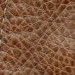 Natural brown leather texture — стоковое фото #38068725