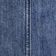 Stock Photo: Blue jeans texture, stitch