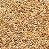 Light brown leather texture closeup. — Stock Photo