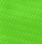 Green leather textured background — Stock Photo