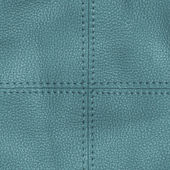 Blue leather textured background — Stock Photo