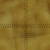Brown leather textured background — Stock Photo