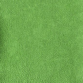 Green leather texture. — Stock Photo