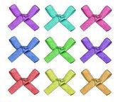 Beautiful ribbon bows. — Stock Photo