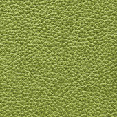 Green leather texture closeup — Stock Photo