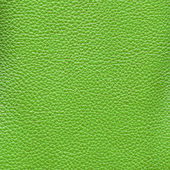 Green leather texture as background — Stock Photo