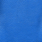 Blue leather texture as background — Stock Photo