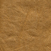 Dark yellow leather texture — Stock Photo