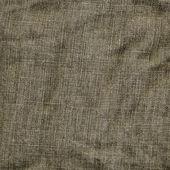 Tela del dril de algodón marrón arrugada — Foto de Stock