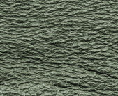 Scratched green leather texture — 图库照片
