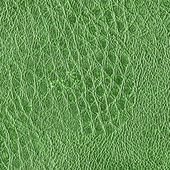 Green old leather texture closeup — Stock Photo