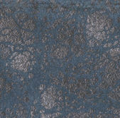 Worn blue  leather texture  — Stock Photo