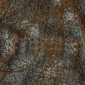 Worn old leather texture — Stock Photo